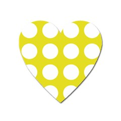 Big Dot Yellow Heart Magnet