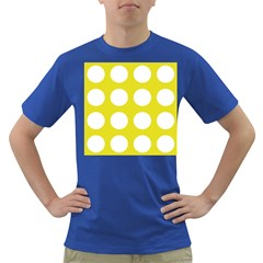 Big Dot Yellow Dark T-shirt