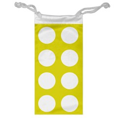 Big Dot Yellow Jewelry Bag