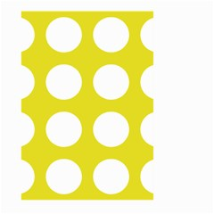 Big Dot Yellow Large Garden Flag (two Sides)