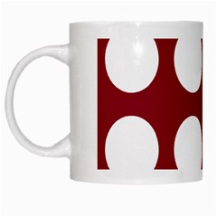 Big Dot Red White Mugs