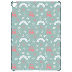 Music Stars Sky Blue Apple Ipad Pro 12 9   Hardshell Case