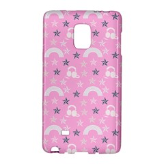 Music Star Pink Galaxy Note Edge by snowwhitegirl