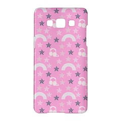Music Star Pink Samsung Galaxy A5 Hardshell Case  by snowwhitegirl