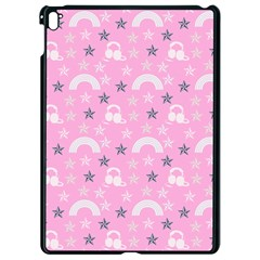 Music Star Pink Apple Ipad Pro 9 7   Black Seamless Case