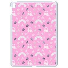 Music Star Pink Apple Ipad Pro 9 7   White Seamless Case