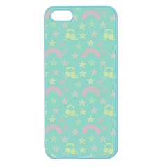 Music Stars Seafoam Apple Seamless Iphone 5 Case (color)