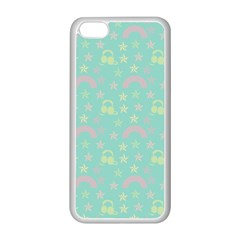 Music Stars Seafoam Apple Iphone 5c Seamless Case (white)