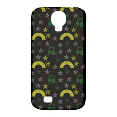 Music Star Dark Grey Samsung Galaxy S4 Classic Hardshell Case (pc+silicone) by snowwhitegirl
