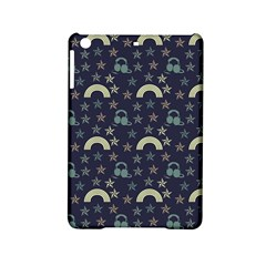 Music Stars Dark Teal Ipad Mini 2 Hardshell Cases by snowwhitegirl