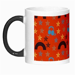 Music Stars Red Morph Mugs
