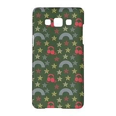 Music Stars Grass Green Samsung Galaxy A5 Hardshell Case  by snowwhitegirl