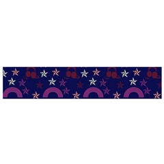 Music Stars Navy Small Flano Scarf by snowwhitegirl
