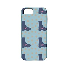 Deer Boots Teal Blue Apple Iphone 5 Classic Hardshell Case (pc+silicone) by snowwhitegirl