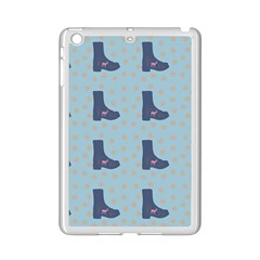 Deer Boots Teal Blue Ipad Mini 2 Enamel Coated Cases by snowwhitegirl