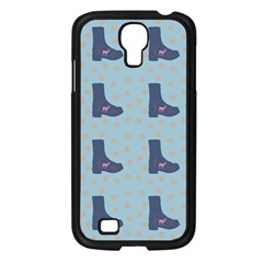 Deer Boots Teal Blue Samsung Galaxy S4 I9500/ I9505 Case (black) by snowwhitegirl