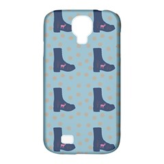 Deer Boots Teal Blue Samsung Galaxy S4 Classic Hardshell Case (pc+silicone) by snowwhitegirl