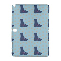 Deer Boots Teal Blue Galaxy Note 1 by snowwhitegirl