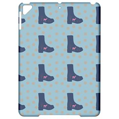 Deer Boots Teal Blue Apple Ipad Pro 9 7   Hardshell Case by snowwhitegirl
