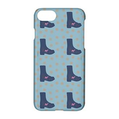 Deer Boots Teal Blue Apple Iphone 7 Hardshell Case by snowwhitegirl