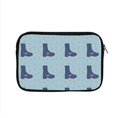 Deer Boots Teal Blue Apple Macbook Pro 15  Zipper Case by snowwhitegirl
