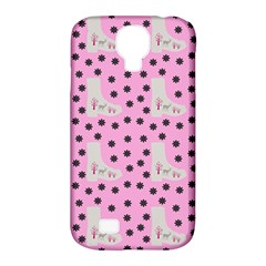 Deer Boots Pink Grey Samsung Galaxy S4 Classic Hardshell Case (pc+silicone) by snowwhitegirl