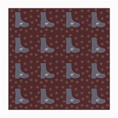 Deer Boots Brown Medium Glasses Cloth (2 Side) by snowwhitegirl