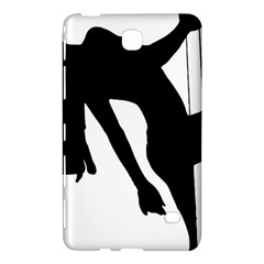 Pole Dancer Silhouette Samsung Galaxy Tab 4 (7 ) Hardshell Case  by Jojostore
