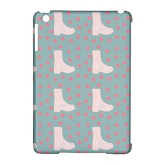Deer Boots Blue White Apple Ipad Mini Hardshell Case (compatible With Smart Cover) by snowwhitegirl