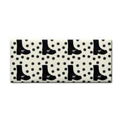 Deer Boots White Black Cosmetic Storage Cases by snowwhitegirl