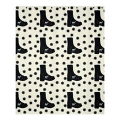 Deer Boots White Black Shower Curtain 60  X 72  (medium)