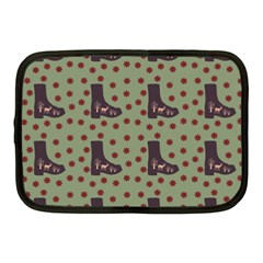 Deer Boots Green Netbook Case (medium)  by snowwhitegirl
