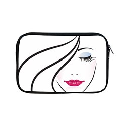 Makeup Face Girl Sweet Apple Macbook Pro 13  Zipper Case
