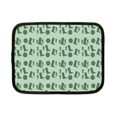 Green Boots Netbook Case (small)  by snowwhitegirl