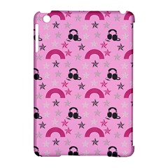 Music Stars Rose Pink Apple Ipad Mini Hardshell Case (compatible With Smart Cover) by snowwhitegirl