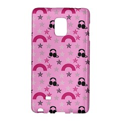 Music Stars Rose Pink Galaxy Note Edge by snowwhitegirl