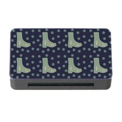 Blue Boots Memory Card Reader With Cf by snowwhitegirl