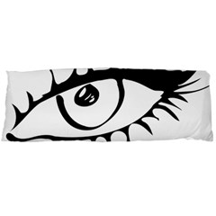 Drawn Eye Transparent Monster Big Body Pillow Case (dakimakura)