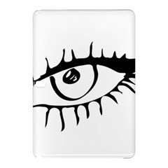 Drawn Eye Transparent Monster Big Samsung Galaxy Tab Pro 12 2 Hardshell Case