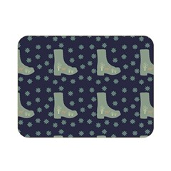 Blue Boots Double Sided Flano Blanket (mini)