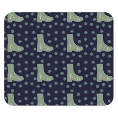 Blue Boots Double Sided Flano Blanket (small)  by snowwhitegirl