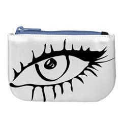 Drawn Eye Transparent Monster Big Large Coin Purse