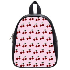 Pink Cherries School Bag (small) by snowwhitegirl
