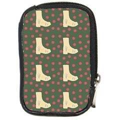 Green Boot Compact Camera Cases by snowwhitegirl