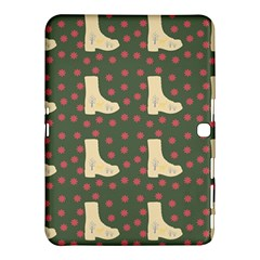 Green Boot Samsung Galaxy Tab 4 (10 1 ) Hardshell Case  by snowwhitegirl