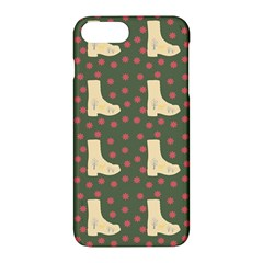 Green Boot Apple Iphone 7 Plus Hardshell Case by snowwhitegirl