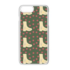 Green Boot Apple Iphone 8 Plus Seamless Case (white) by snowwhitegirl