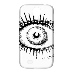 Big Eye Monster Samsung Galaxy S4 Classic Hardshell Case (pc+silicone) by AnjaniArt