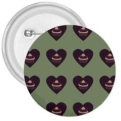 Cupcake Green 3  Buttons by snowwhitegirl