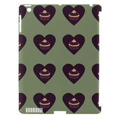 Cupcake Green Apple Ipad 3/4 Hardshell Case (compatible With Smart Cover) by snowwhitegirl